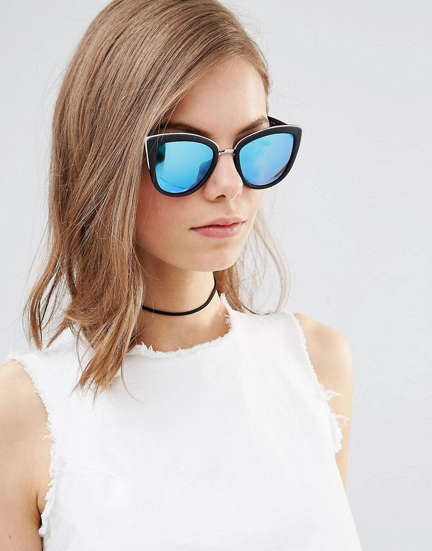 "635506fba1ee better quay. Quay Australia. Pictured above are the ""Quay Australia My Girl  Mirror Cat Eye Sunglasses."