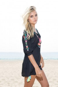 Nikki Kaftan Beach cover up by Rinikini