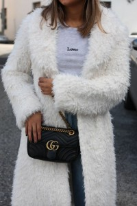 Unreal Fur De La Creme Jacket in Ivory