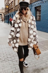 Unreal Fur Bubbles Jacket